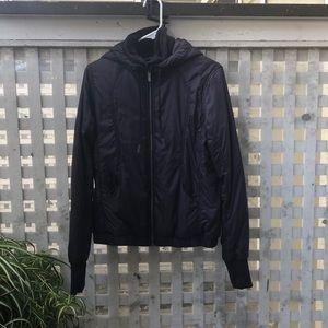 Lululemon dark purple jacket luxchange size 8